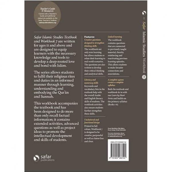 Book: Safar Islamic Studies Workbook 7 – Learn about Islam Series by Hasan Ali
